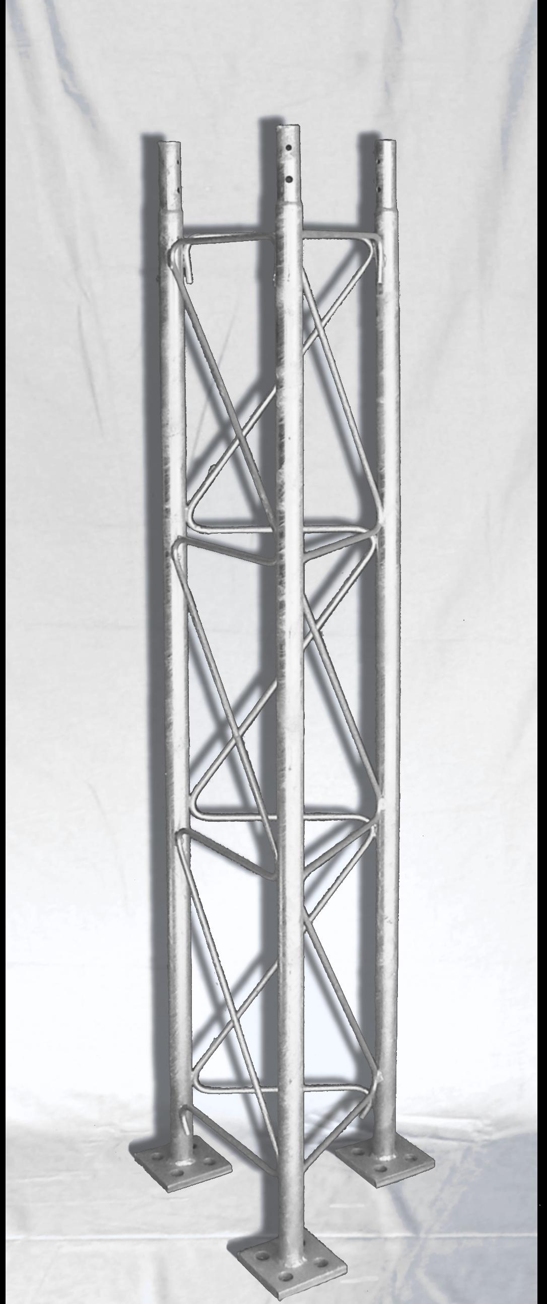Mast Antenna Segment on White