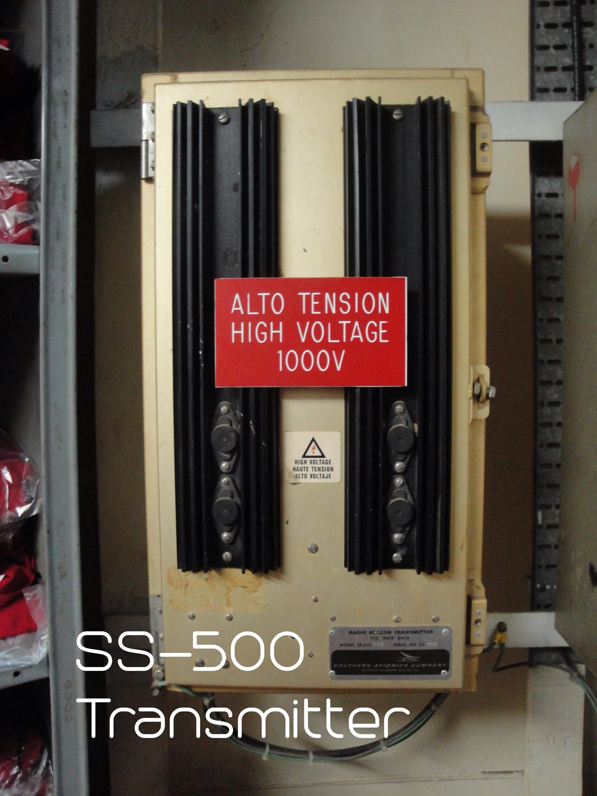 SS-500 NDB Transmitter